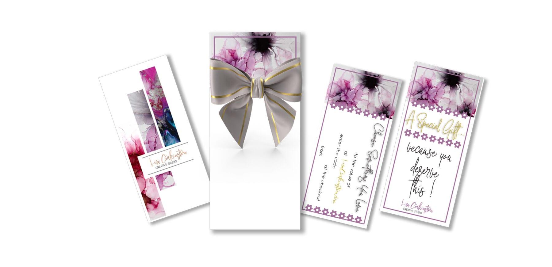 Gift Certificate Web Header Image