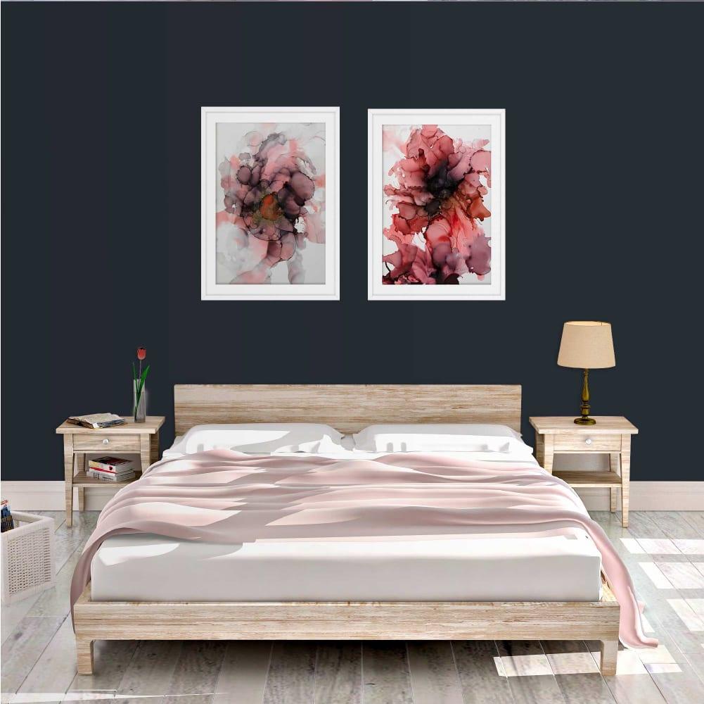 Peach and Sakura Art