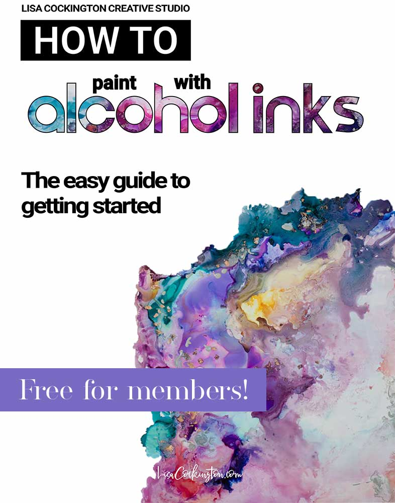 How to Paint with Alcohol Inks Web Promo