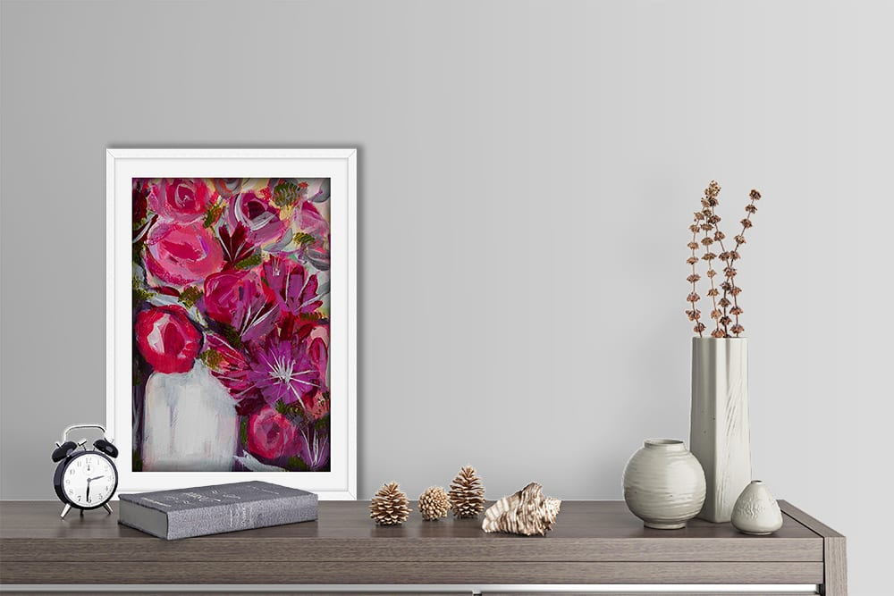Sparkles Shelf White Frame Lifestyle