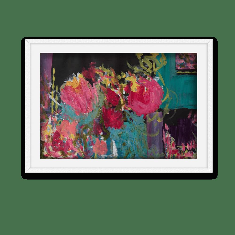 War of the Roses White Frame