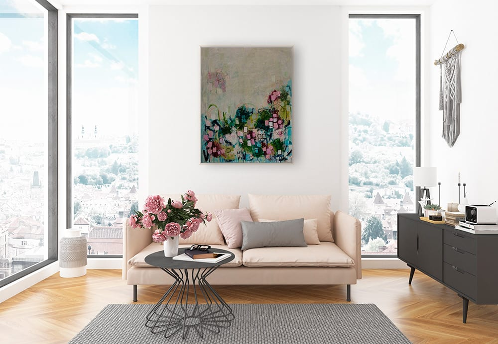 Wildflowers Lifestyle New York Apartment Oak Frame