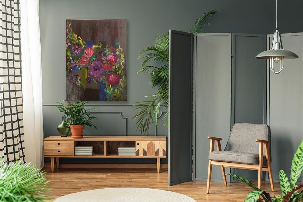 Concrete Jungle Lifestyle Green Room