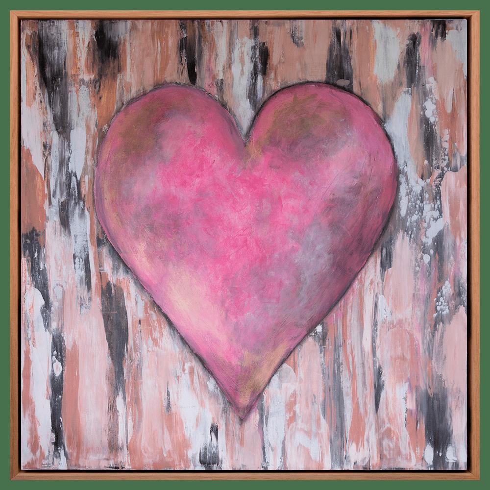 Pinocchio's Heart Oak Frame SRGB