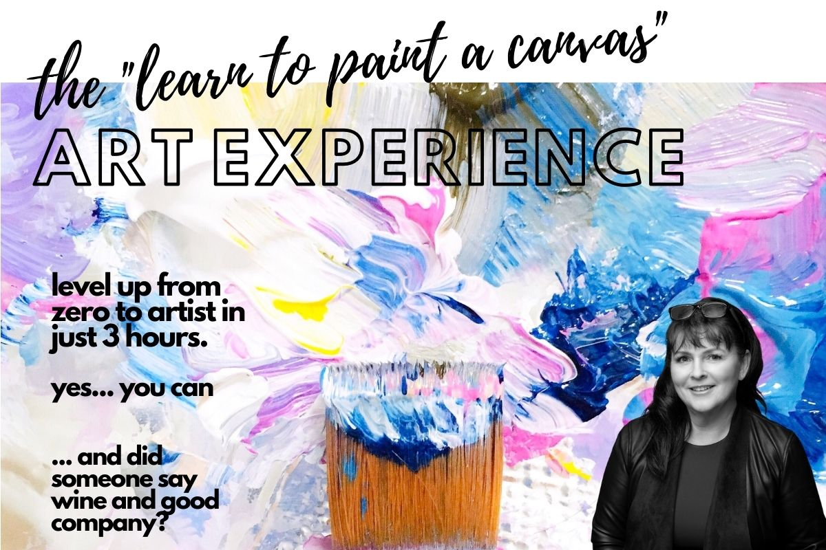 Learn to paint a canvas banner