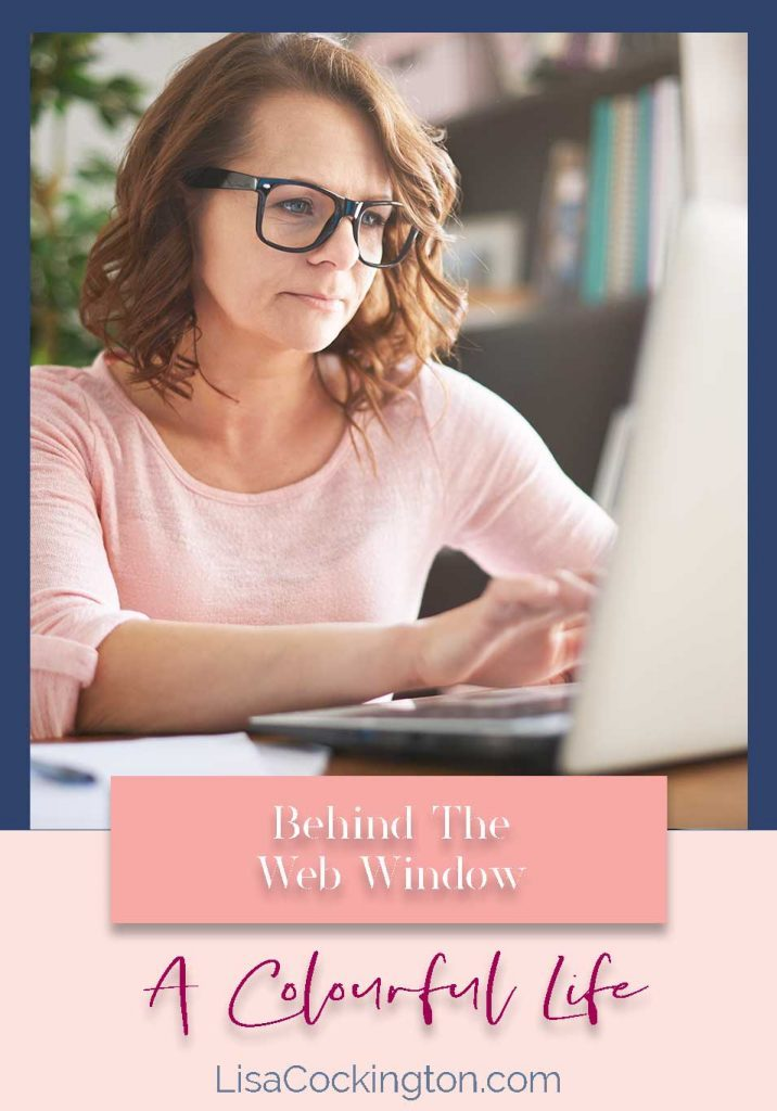 Behind The Web Window